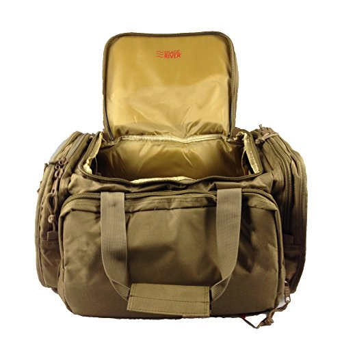 Osage River Tactical Shooting Gun Range Bag, Coyote Tan (Lockable Range Bag compare prices)
