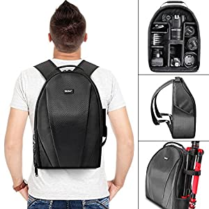 Vivitar Camera Backpack Bag for DSLR Camera, Lens and Accessories