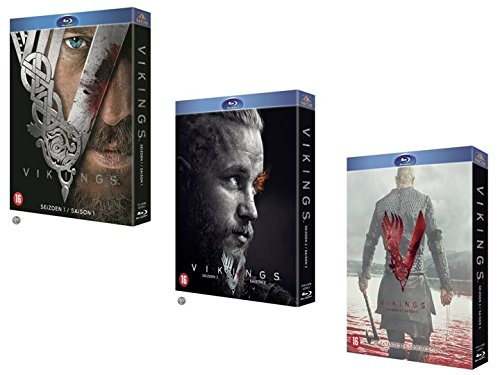 Vikings - Intégrale des saisons 1 + 2 + 3 - version longue (Coffret Blu-ray)