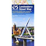Londonderry Street Map 2013 (Irish Street Maps)
