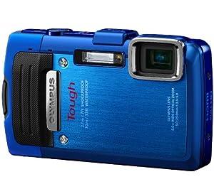 Olympus TG-830 Digitalkamera (16 Megapixel, 5-fach opt. Zoom, 7,6 cm (3 Zoll) LCD-Display, Full HD, GPS, Wasserdicht bis 10m) blau