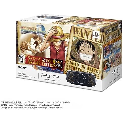 Sony PSP PSP「플레이스테이션・포터블」 원피스 ROMANCE DAWN 모험 새벽 밀짚의 한가지의 맛 EDITION (PSPJ-30028)[메이커 생산 종료]-PSP-3000 (2012-12-20)