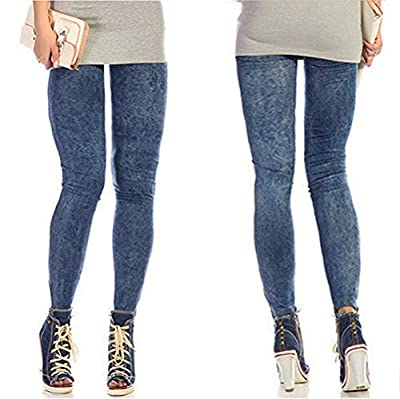 Chunlin NEW Sexy Women Jean Skinny Jeggings Stretchy Slim Leggings Fashion Skinny Pants