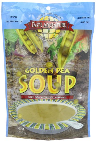 Taste Adventure Soup, Golden Pea, 4.4-Ounce Cartons (Pack Of 6)