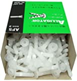 TOGGLER ALLIGATOR AF5 Flanged Anchor, Polypropylene, Made in US, For #4 to #9 Fastener Sizes (Pack of 200)
