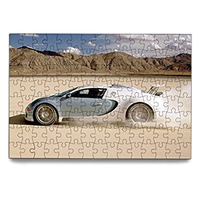 ECO-Pad White Car Puzzle Jigsaw Puzzle 120 Pieces (6-Pack) by ECO-Pad