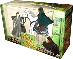 The Lord Of The Rings ToyBiz The Lord of the Rings Series: The Fellowship of the Ring Deluxe Horse and Rider Set