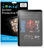 Ionic Screen Protector Film Matte (Anti-Glare) for Amazon Kindle Fire HD 8.9 Kindle Fire HD Tablet (3-pack)[Doesnt fit Kindle Fire HD 7 Inch][Lifetime Replacement Warranty]