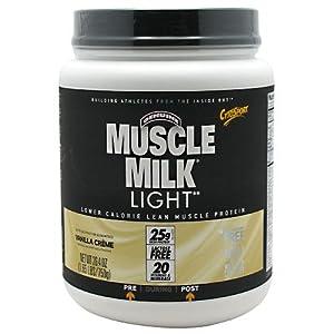 CytoSport Muscle Milk Light, Vanilla Creme, 1.65 Pound