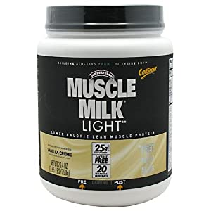 muscle milk light vanilla creme lbs from cytosport. Black Bedroom Furniture Sets. Home Design Ideas