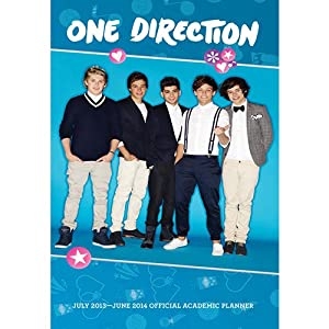 [2014 Calendar] One Direction 2014 Planner Planner Calendar from BrownTrout Publishers