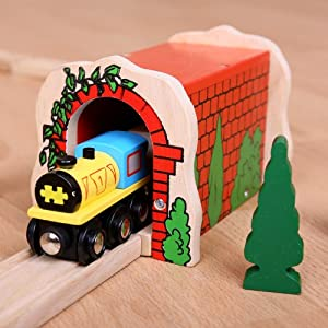 Bigjigs Rail Red Brick Tunnel