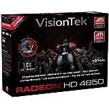 VisionTek Radeon 4650 1GB PCIe DDR3 DVI-I, HDMI, VGA Grapchics Card (900252)