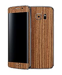 dbrand Zebra Wood Front and Back Mobile Skin for Samsung Galaxy S6 Edge