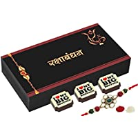 Rakhi Gift - 6 Chocolate Gift Box - Rakhi With Chocolates