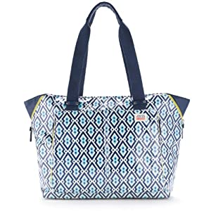 Skip Hop Jonathan Adler Light and Luxe Diaper Tote, Syrie