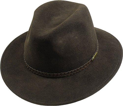 rollbarer Hut in 2 Farben, Kopfgröße:59;Farben:braun