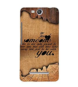 Amazing Love Quote 3D Hard Polycarbonate Designer Back Case Cover for Micromax Canvas Juice 3 Q392