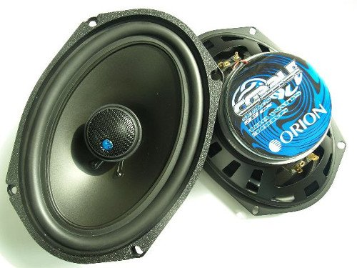"Orion Cobalt Series 93Cx 6X9"" 2-Way Coaxial Speaker Pair"