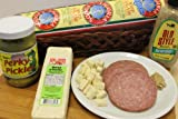 Deli Direct Gourmet Salami & Pickles Gift Basket