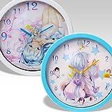 電波女と青春男 ウォールクロック(壁掛け時計) 【ホワイトタイプ】