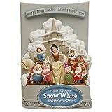 Master Replicas - Disney Statue Snow White and the Seven Dwarfs 3D Marquee 26 cm