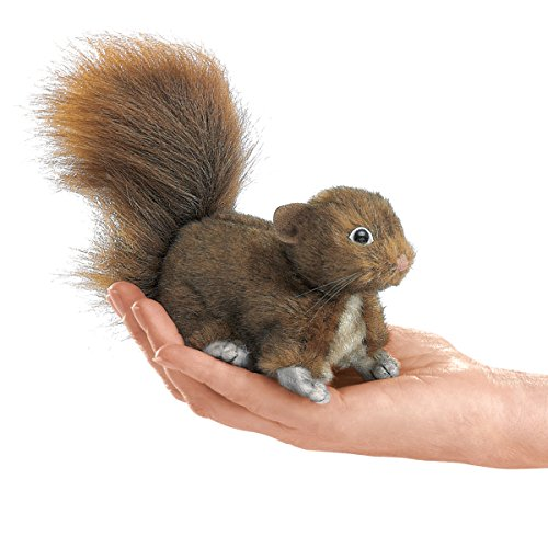 Folkmanis-Mini-Red-Squirrel-Finger-Puppet