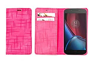 R&A Pu Leather Wallet Case Cover For Huawei Honor 6 Plus