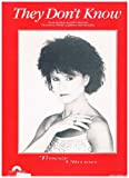 img - for They Don't Know - Recorded by Tracey Ullman (Piano Vocal Guitar) Sheet Music 1983 book / textbook / text book