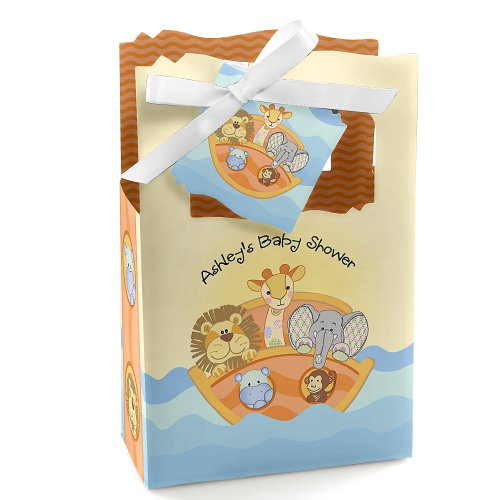 Noah'S Ark - Personalized Baby Shower Favor Boxes front-802550