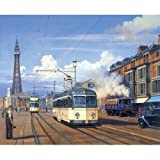 The Trams of Blackpool (greetings card)