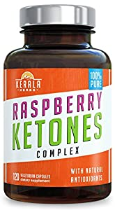 Kerala Herbs Raspberry Ketones Complex For Weight Loss And Natural Energy 120 Capsules from Kerala Herbs