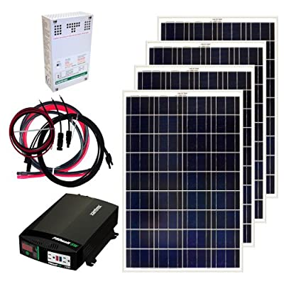 Grape Solar GS-400-KIT 400-Watt Off-Grid Solar Panel Kit from Grape Solar-Dropship