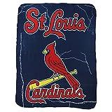 """MLB Lightweight Fleece Blanket (50"""" x 60"""") (St. Louis Cardinals)"""