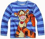 Tigger Langarmshirt Kollektion 2014 Neu 62 68 74 80 86 92 Jungen Shirt Top Süß Baby Disney Kleinkind Tigger Blau Gestreift (62)