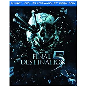 Final Destination 5 on Blu-ray dvd digital combo