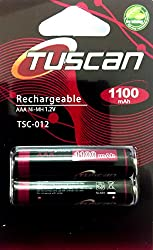 Tuscan AAA 1100 mAh Rechargeable Battery