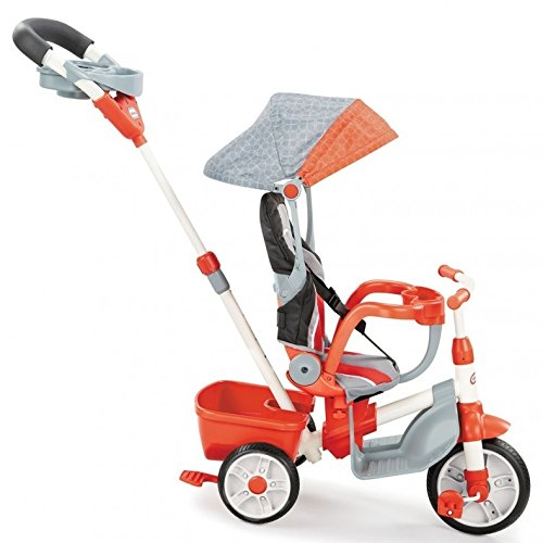Little-Tikes-5-in-1-Deluxe-Ride-Relax-Reclining-Trike-Red