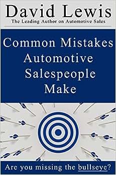 Common Mistakes Automotive Salespeople Make