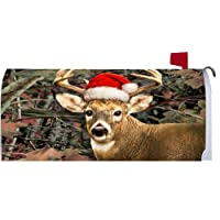 Deer Santa 2148MM Magnetic Mailbox Cover Wrap