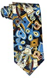 ->   100%SILK PLAYING CARD KING QUEEN ITALIAN NOVELTY TIE **SAME DAY POSTING**