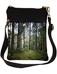 Snoogg Multiple Branched Tree Cross Body Tote Bag / Shoulder Sling Carry Bag
