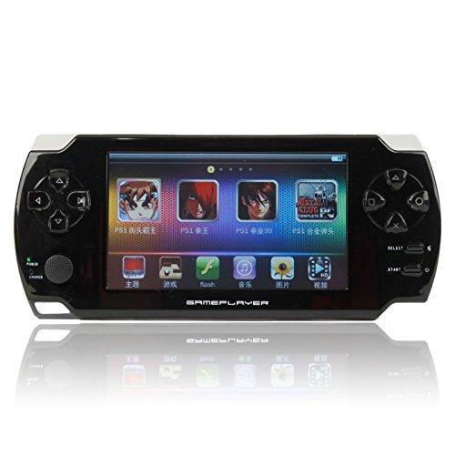 "MP4 Players - 8GB 4.3"" Ultra-thin LCD Touch Screen New Game MP3 MP4 MP5 Player Camera E-Book (TXT PDF) Black"