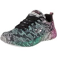 Skechers Burst Vivid Viper Womens Sneaker (Black/Multi)