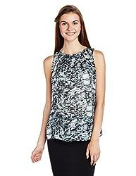 Mineral Women's Body Blouse Shirt (UI16A-247 WT_Charcoal Grey_XL)