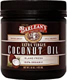 Jar contains 16 ounces which can be used for 32 servings - Barleans Organic Oils Extra Virgin Coconut Oil