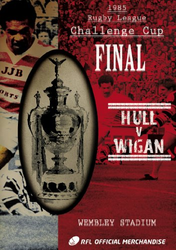 1985 Challenge Cup Final - Wigan 28 Hull 24 [DVD]