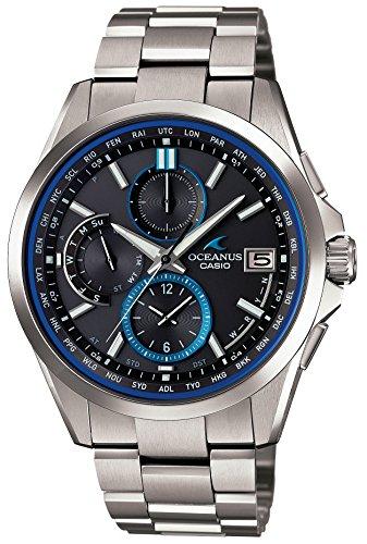 [カシオ]CASIO 腕時計 OCEANUS Classic Line 世界6局電波対応ソーラーウォッチ OCW-T2600-1AJF メンズ -