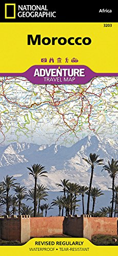 Morocco : 1/1 000 000 (Adventure map)