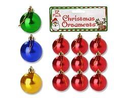 bulk buys SA345 Christmas Ornament Bulbs by bulk buys